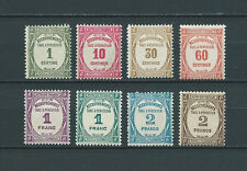 TAXES - 1927-31 YT 55 à 62 - TIMBRES NEUFS** LUXE