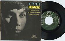 Rare French/German Chanson EP Autographed - Eva - Liebelei - Mercury # 152015