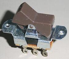 NOS Brown Rocker/Slide Panel Switch, DPDT, UNIl. LAB. INC.