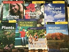 """Lot of 7 NATIONAL GEOGRAPHIC Big Books 19"""" x 14"""" Science Social Studies Plants"""