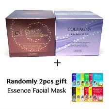 [JIGOTT] Snail Repairing Cream 100g + Collagen Healing Cream 100g + gift (2pcs)
