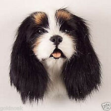(1) BLACK KG SPANIEL DOG MAGNET! Very realistic collectible fur  Magnets.