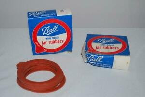 Vintage Ball Jar Rubbers Lot of 36 Rubber Rings Wide Mouth Canning