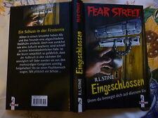 Eingeschlossen Denn du bewegst dich a.d.Eis von R.L. Stine Fear Street Buch gebr
