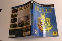 Bully PS2 replacement cover art insert only! original