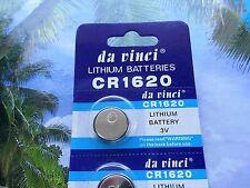 Knopfzellen CR 1620 Lithium 3 V Volt - Batterien