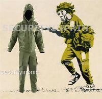 British Army Surplus NBC MK4 CBRN Suit, CBRN Olive Green - New