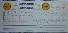 Revell A340-300 Lufthansa 1/144 scale decal only, extremely rare