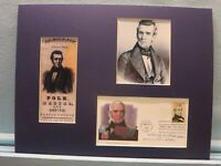 James K. Polk wins the 1844 Presidential Election & First day Cover