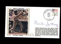 Benito Santiago Hand Signed 1987 Hit Streak FDC Cache Autograph