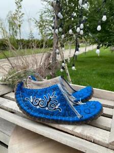 Felted wool handmade mens slippers Kazakhstan eco friendly size 41-42 eur