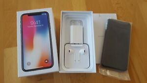 Apple iPhone X in Space Grau mit 64GB > simlockfrei + iCloudfrei + TOPP