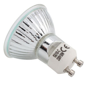 10 x 35w or 50w GU10 Long Life Halogen Reflector Lamp Dimmable Spot Light Bulb