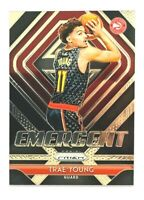 2018-19 Panini Prizm Trae Young RC, Emergent, Hawks Rookie!