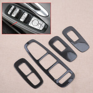 Stainless Steel Door Window Switch Panel Cover Fit For Hyundai Sonata 2020-2021