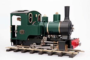 Roundhouse Billy 0-4-0 Live-Steam with Radio Control, Deep Brunswick Green