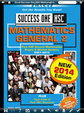 EXCEL SUCCESS ONE HSC MATHEMATICS GENERAL 2 MATHS BOOK 2014 EDITION