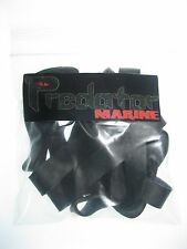 "Large Heavy Duty Black Rubber bands #84 3-1/2""x1/2"" Uv heat resistant 10 Pack."