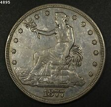 "1877 Trade Dollar ""XF"" *Free S/H After 1st Item*"