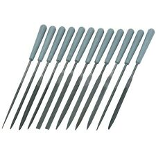12 Piece Miniature Size Hand Needle Metal Working File Tool Set Kit Mini Small