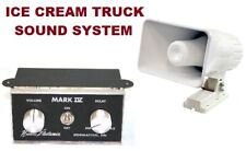 "Ice Cream Truck, Music Box Sound System Single Tune ""Mark Iv"" & 50watt Speaker."