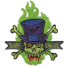 "Authentic RETRO-A-GO-GO! Stay Creepy Embroidered Patch 5"" x 4.5"" NEW"