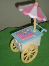 Fisher Price Dream Dollhouse Ice Cream Cart LOT 8