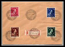 Gp Goldpath: Belgium Cover 1947 Registered Letter _Cv515_P05