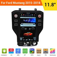 "11.8"" Tesla Style Car GPS Navigation Radio For Ford Mustang 2015 2016 2017 2018"