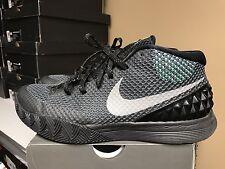 Nike Kyrie 1 Green Glow Size 8.5 Black Grey Silver