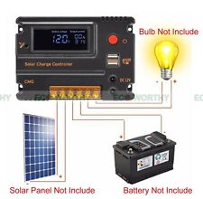 20A 12V/24V CMG Solar PWM Charge Intelligent Controller Regulator for Car System