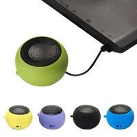 Mini Hamburger speaker Travel USB Charging Portable Speaker MP3 Laptop 1X G6A
