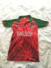 Bangladesh Cricket Jersey Men  Icc Cricket World Cup T20 Red and Green