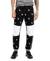 INC International Concepts INC Men's Skull Jogger Pants Deep Black Size Medium