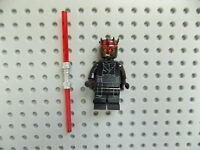 LEGO STAR WARS Minifigure from set 75169 DARTH MAUL with Dual Lightsaber