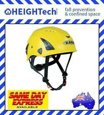 KASK Yellow HP PLUS Technical Rescue Industrial Climbing Head Protection Helmet