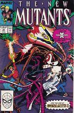 NEW MUTANTS #74 (Apr 1989) X-Terminators VF 8.0