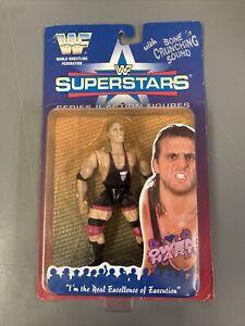 WWF Owen Hart  Jakks Series 2 1996 BCA WWE Wrestling Figure NXT ECW WCW RoCKET