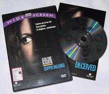 Doppio Inganno - Goldie Hawn  (DVD; 1992) *Bollino SIAE ROSA/WIDE SCREEN*.