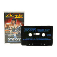 Blaze Out - 5 Game Cassette For Commodore 64 /128 - Ocean 1989 - Arcade