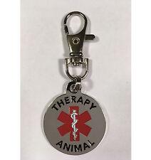 High Quality Therapy Animal Dog Tag -- 6YZ