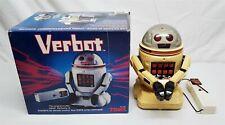 VINTAGE 80'S TOMY VERBOT ROBOT W/ ORIGINAL BOX