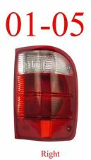 01 05 Ranger Right Tail Light, Ford, Complete Assembly, 2WD, 4WD, FO2801156