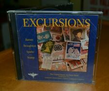 United States Air Force Band Excursions CD Barnes Broughton Sparke Stamp