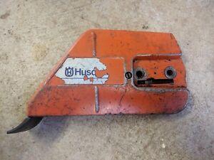Genuine Clutch Chain Cover Husqvarna 336 & 339 Chainsaw parts Rare! 5370040