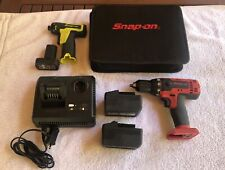 Snap On Tools Cordless Drill And Screwdriver Set