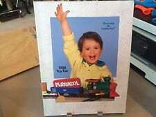 RARE PLAYSKOOL TOY FAIR CATALOG 1988 NOSY BEARS SESAME STREET DEFINITELY DINOS