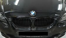 Front Kidney Grille Glossy Black For BMW 5-Series E60 E61 525d 520d 530d 528i