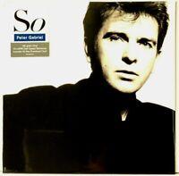 Peter Gabriel - So - 180-gram Half Speed Master LP Vinyl Record Album New Sealed