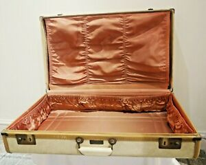Vintage 1950s Penney's Towncraft Hardshell Suitcase
